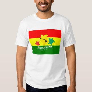 Bahía de Hanauma e islas hawaianas del reggae Camiseta