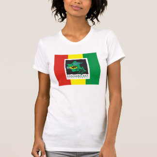 Bahía de Hanauma e islas hawaianas del reggae Camisetas