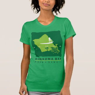 Bahía de Hanauma - isla de Hawaii Oahu Camiseta