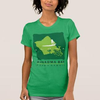 Bahía de Hanauma - isla de Hawaii Oahu Camisetas