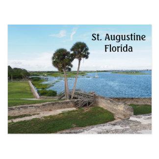 Bahía de Matanzas en St Augustine la Florida Postal
