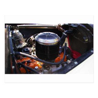 Bahía de motor clásica de Dodge Postal