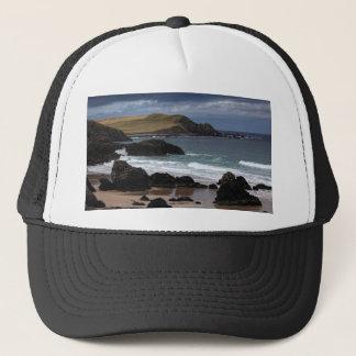 Bahía de Sango, Sutherland, Escocia Gorra De Camionero
