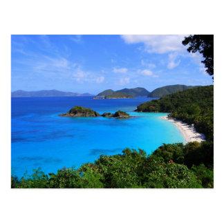Bahía del canela, St. John, Islas Vírgenes de los Postal