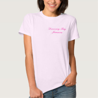 Bahía del descubrimiento, Jamaica Camiseta