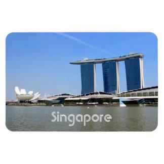 bahía del puerto deportivo de Singapur Imán