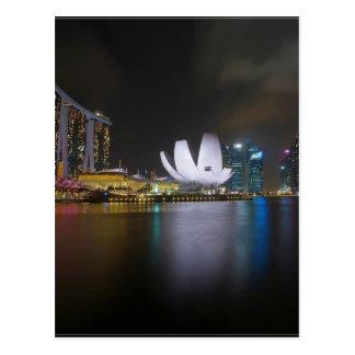 Bahía del Singapur-Puerto deportivo Postal