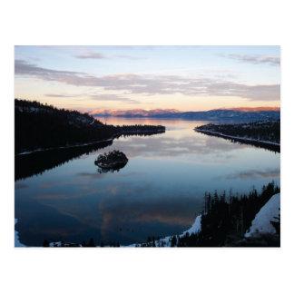 Bahía esmeralda, postal del lago Tahoe