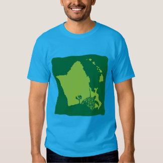 Bahía Oahu Hawaii de Hanauma Camisetas