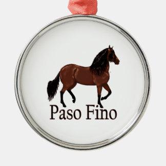 """Bahía """"Paso Fino """" de Paso Fino Ornamentos De Navidad"""