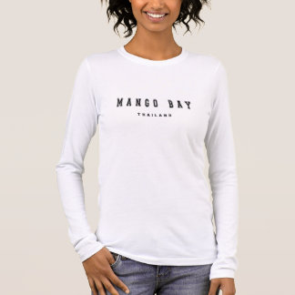 Bahía Tailandia del mango Camiseta De Manga Larga