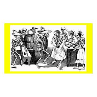 """""""Bailando el Jarabe en el otro mundo """" Plantilla De Tarjeta Personal"""