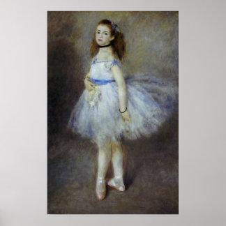 Póster Bailarín de ballet de Pedro Renoir, bella arte del
