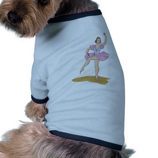Bailarín de ballet ropa para mascota