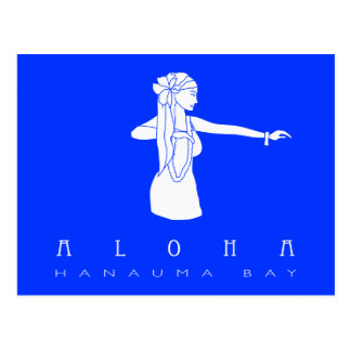 Bailarín de Hawaii Hula de la hawaiana Postal