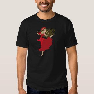 Bailarín modelo gitano camisetas