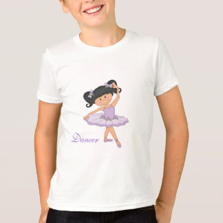 Bailarín-Pequeña bailarina en tutú Camiseta