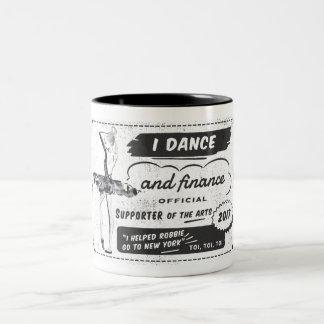 Bailarín y Financer de los artes - taza