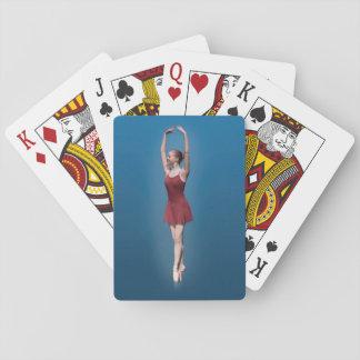 Bailarina agraciada en Pointe Cartas De Póquer