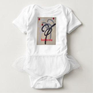 bailarina body para bebé