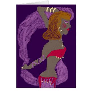 Bailarina de la danza del vientre 2: El santo Tarjeta