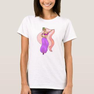 Bailarina de la danza del vientre - T - camiseta -