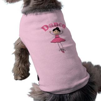 Bailarina de la danza prenda mascota