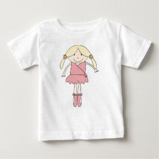Bailarina de Prima Camiseta De Bebé