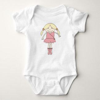 Bailarina de Prima del bebé Body Para Bebé