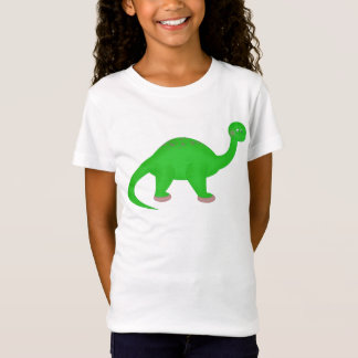 Bailarina del dinosaurio camiseta