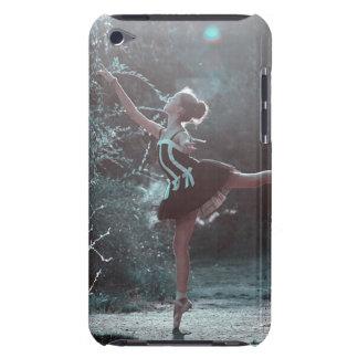 Bailarina hermosa en caja helada del teléfono de funda para iPod de barely there