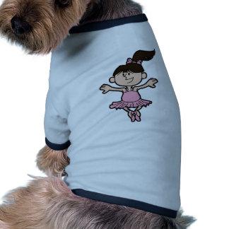 Bailarina Camiseta De Mascota