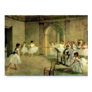 Bailarinas de Edgar Degas Postal