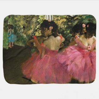 Bailarinas en rosa de Edgar Degas Mantita Para Bebé