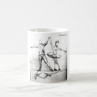 Bailarines de ballet tazas