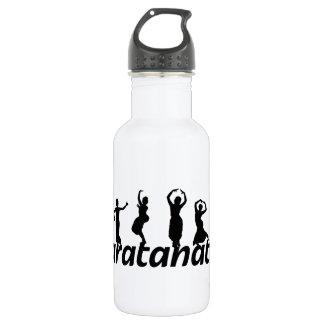 Bailarines de Bharatanatyam Botella De Agua