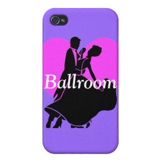 bailarines del salón de baile iPhone 4 fundas