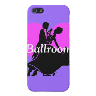 bailarines del salón de baile iPhone 5 funda