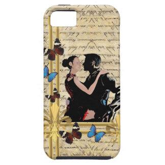 Bailarines del tango del vintage iPhone 5 carcasas
