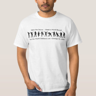 Bailarines del zombi camiseta
