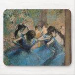 Bailarines en el azul, 1890 alfombrilla de ratón