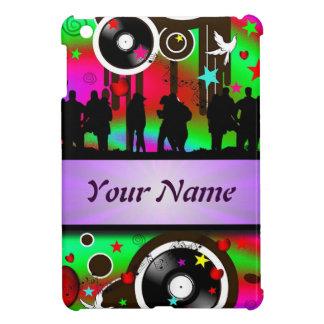 Baile colorido de la gente del fiesta iPad mini carcasas