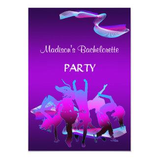 Baile de Bachelorette Invitación 12,7 X 17,8 Cm