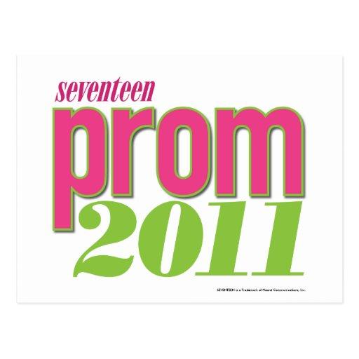 Baile de fin de curso 2011 - Verde Tarjeta Postal