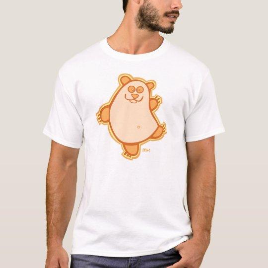 Baile de la panda - naranja camiseta