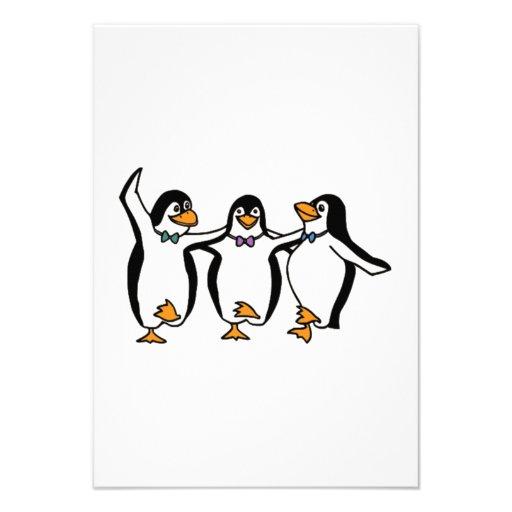 Baile de los pingüinos comunicados