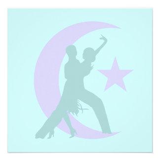 Baile de salón de baile comunicados personalizados