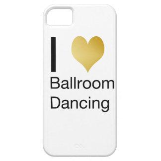 Baile de salón de baile elegante del corazón de I Funda Para iPhone SE/5/5s