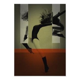 Baile del ballet comunicado personalizado