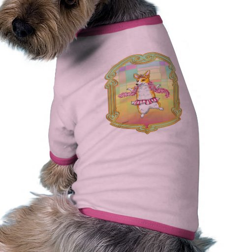 Baile del Corgi en tutú Camisetas De Mascota